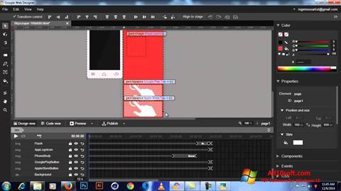 Képernyőkép Google Web Designer Windows 10