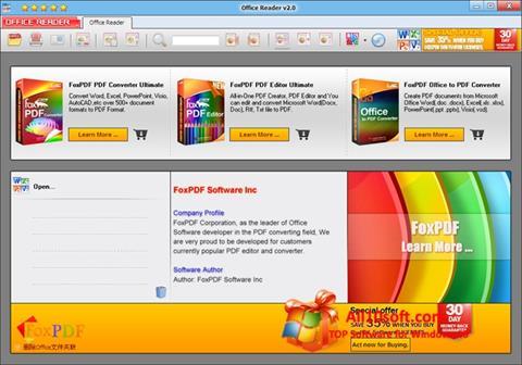 Képernyőkép Doc Reader Windows 10