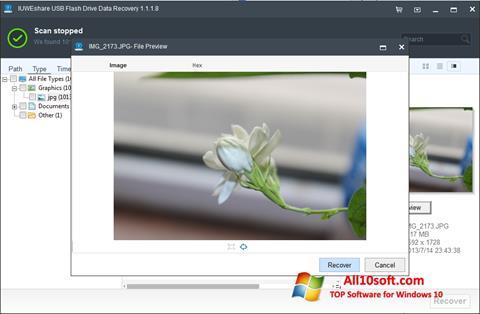 Képernyőkép USB Flash Drive Recovery Windows 10