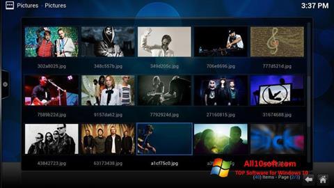 Képernyőkép Kodi Windows 10
