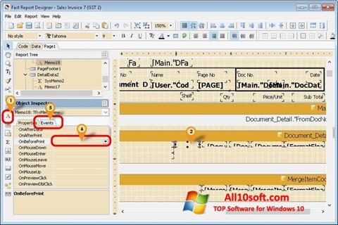 Képernyőkép FastReport Windows 10