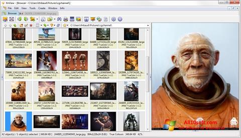 Képernyőkép XnView Windows 10