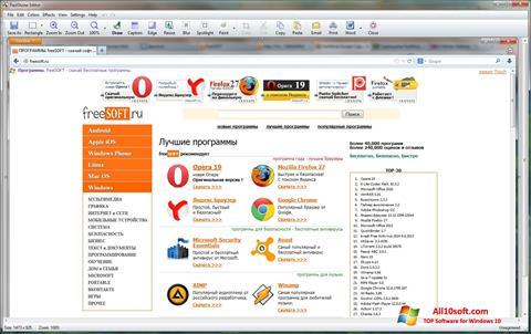 Képernyőkép FastStone Capture Windows 10