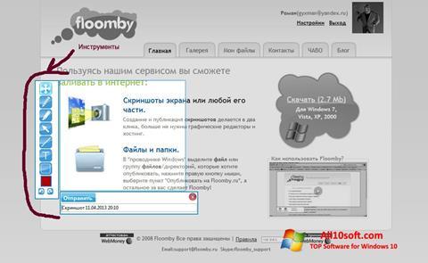 Képernyőkép Floomby Windows 10