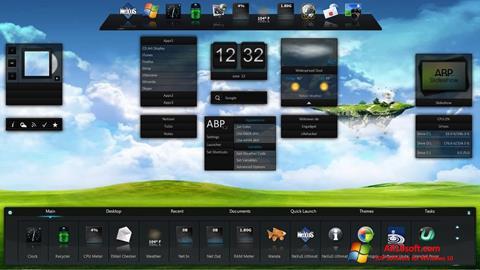 Képernyőkép Winstep Nexus Windows 10