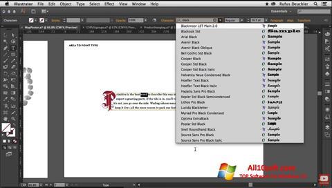 Képernyőkép Adobe Illustrator Windows 10