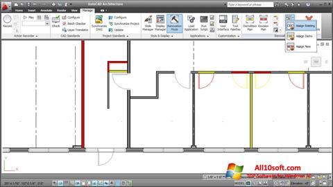 Képernyőkép AutoCAD Architecture Windows 10