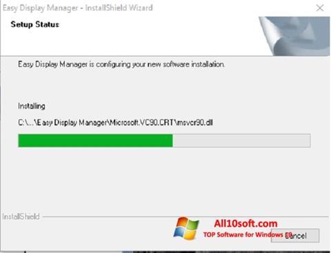 Képernyőkép Easy Display Manager Windows 10