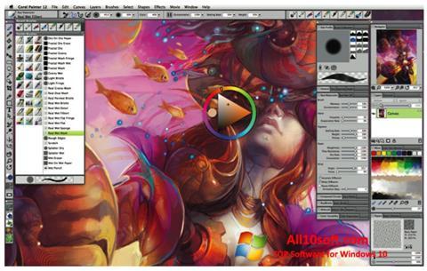 Képernyőkép Corel Painter Windows 10