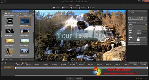 Képernyőkép Pinnacle Studio Windows 10