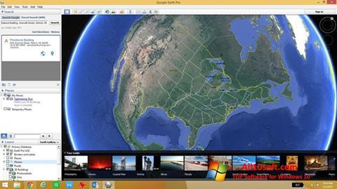 Képernyőkép Google Earth Pro Windows 10