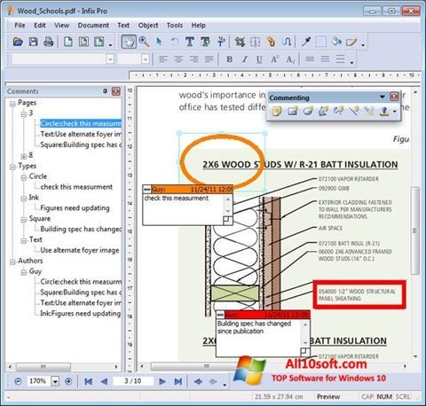 Képernyőkép Infix PDF Editor Windows 10