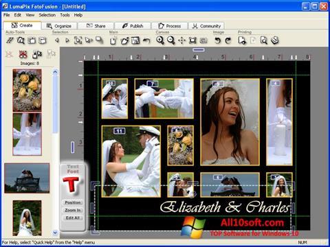 Képernyőkép FotoFusion Windows 10