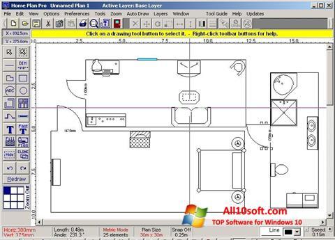 Képernyőkép Home Plan Pro Windows 10