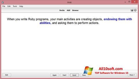 Képernyőkép Anki Windows 10