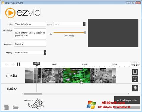Képernyőkép Ezvid Windows 10