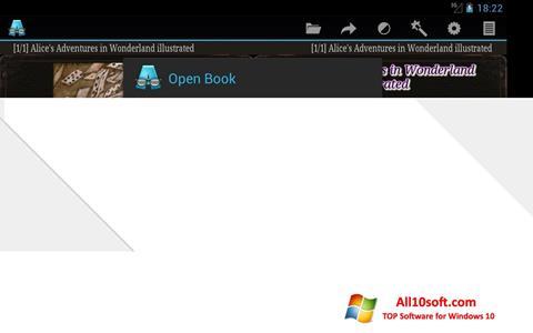Képernyőkép AlReader Windows 10