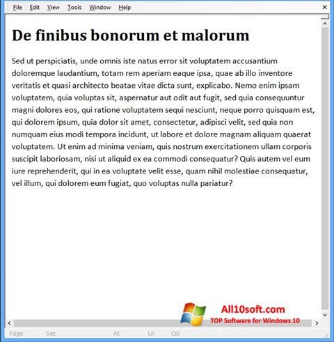 Képernyőkép Doc Viewer Windows 10