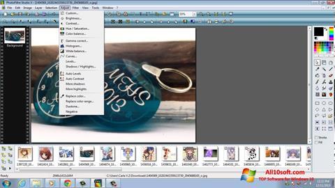 Képernyőkép PhotoFiltre Studio X Windows 10