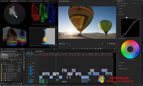 Képernyőkép Adobe Premiere Pro CC Windows 10