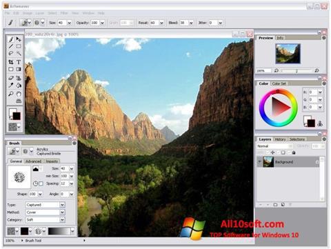 Képernyőkép Artweaver Windows 10