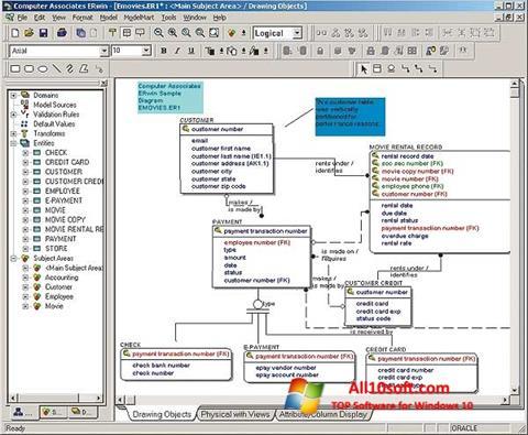 Képernyőkép ERWin Windows 10