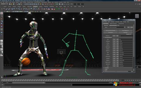 Képernyőkép Autodesk Maya Windows 10