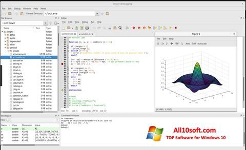 Képernyőkép Octave Windows 10