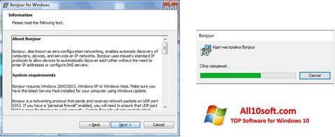 Képernyőkép Bonjour Windows 10
