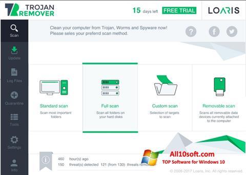 Képernyőkép Loaris Trojan Remover Windows 10