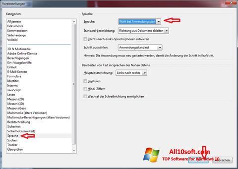 Képernyőkép Adobe Reader Windows 10