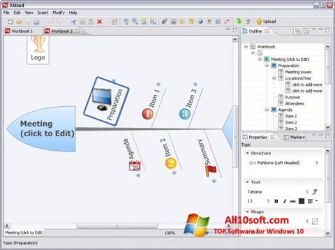 Képernyőkép XMind Windows 10