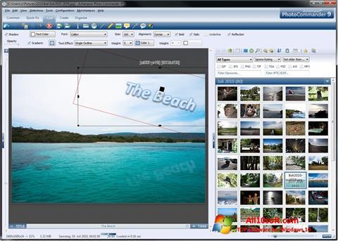 Képernyőkép Ashampoo Photo Commander Windows 10