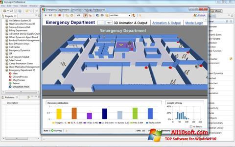 Képernyőkép AnyLogic Windows 10