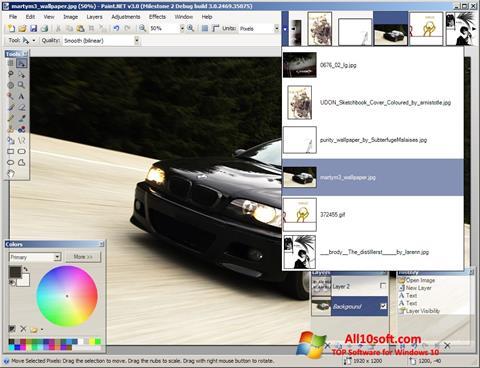 Képernyőkép Paint.NET Windows 10