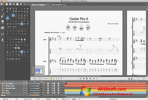 Képernyőkép Guitar Pro Windows 10