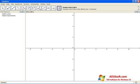 Képernyőkép GeoGebra Windows 10